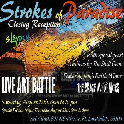 Strokes of Paradise: Closing Reception