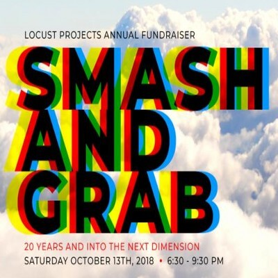 Locust Projects Smash & Grab Fundraiser