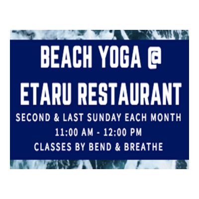 Beach Yoga at Etaru Hallandale