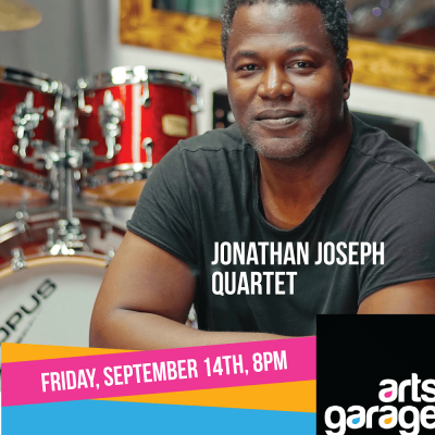 Jonathan Joseph's Weather Underground at Arts Garage Sept 14