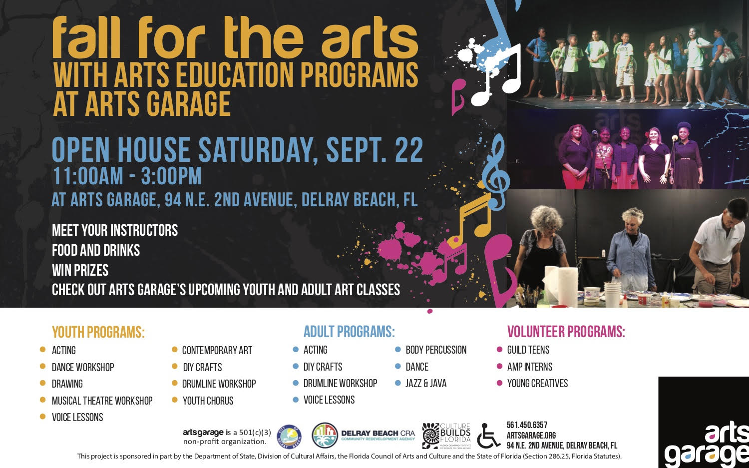 Fall for the Arts Open House presented by Creative City