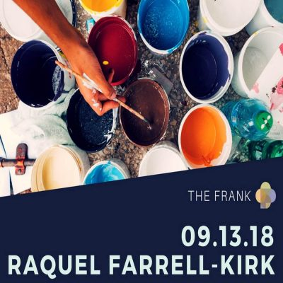 Careers in the Arts: Raquel Farrell-Kirk