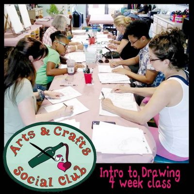 INTRODUCTION TO DRAWING Sat 1-3pm (4-week course t...