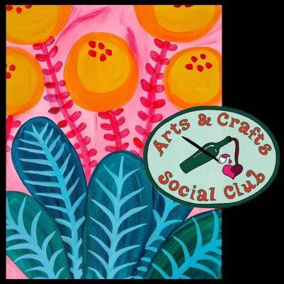 "BYOB Painting Class - ""Fabulous Flora"""