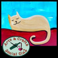 "BYOB Painting Class - ""Cat Nap"""