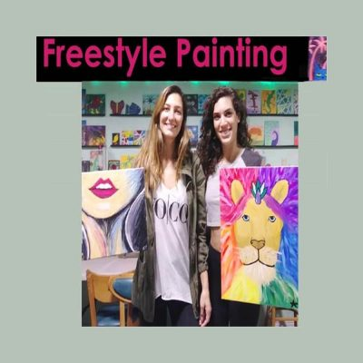 Freestyle Paint & Sip Session (HAPPY HOUR 6-8p...