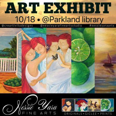 Art Exhibit by Nessie Yara