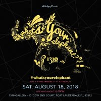 2018 What's Your Elephant' Art exhibit & performance opening night