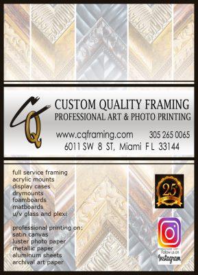 Custom Quality Framing, Art & Photo Printing