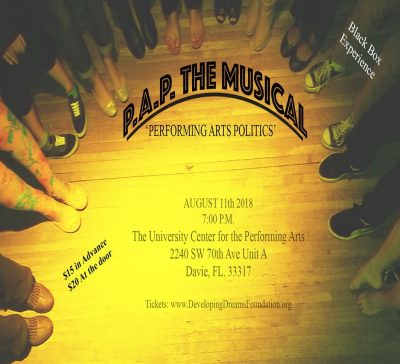 Performing Arts Politics - The Musical
