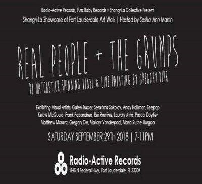 Shangri-La Showcase | Art Walk at Radio-Active Records