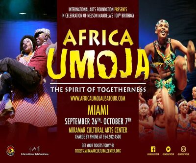 "Africa Umoja ""The Spirit of Unity Tour 2018"""