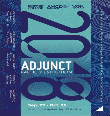 Artist Reception: 2018 Adjunct Faculty Exhibition