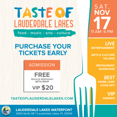 Taste of Lauderdale Lakes: Food, Music, Arts &...