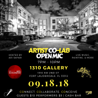 Artist Co-Lab Open Mic