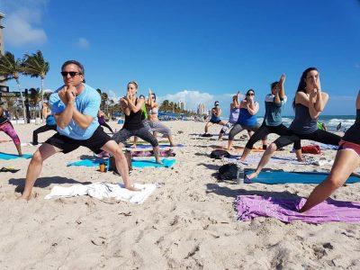 Beach Yoga by Donation