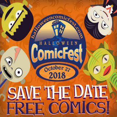 Halloween Comic Fest 2018 at Lauderdale Comics