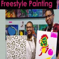 Freestyle Paint & Sip Session (HAPPY HOUR 6-8pm)