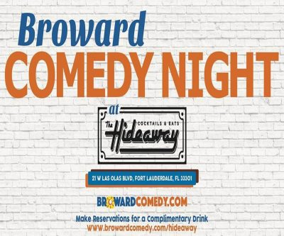 The Hideaway Comedy Night