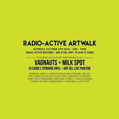 Radio-Active Artwalk, Art Work Sale