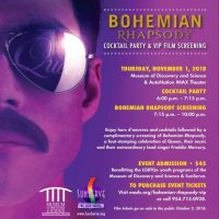 Bohemian Rhapsody Cocktail Party VIP Screening