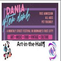 Art in the Hall - Atrium Art Gallery Dania Beach, Dania After Dark