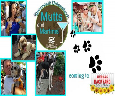 13th Annual Riverwalk Mutts and Martinis