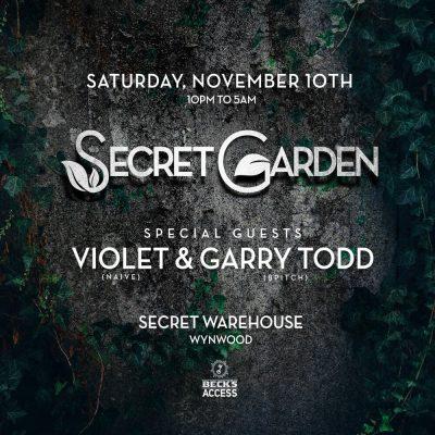 Secret Garden - Warehouse Experience