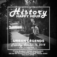 History Happy Hour: Urban Legends