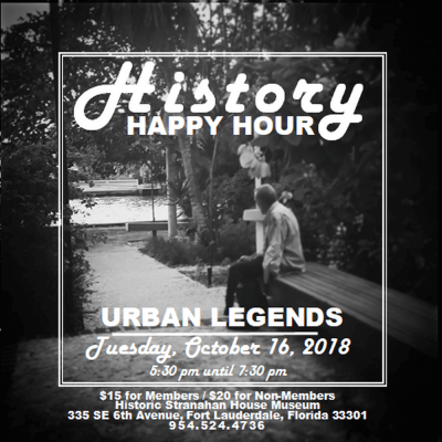 History Happy Hour: Urban Legends
