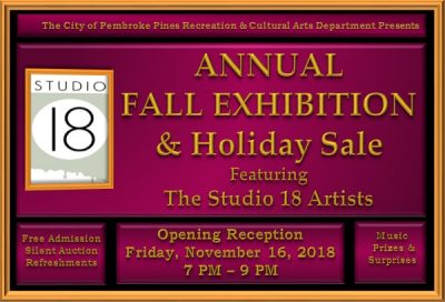 Annual Fall Exhibition & Holiday Sale: Featuri...