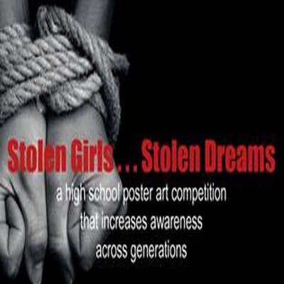 Stolen Girls...Stolen Dreams art poster contest
