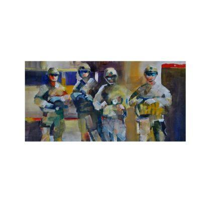 Marilyn Johansen - 'Soldiers Stories' Art Exhibiti...
