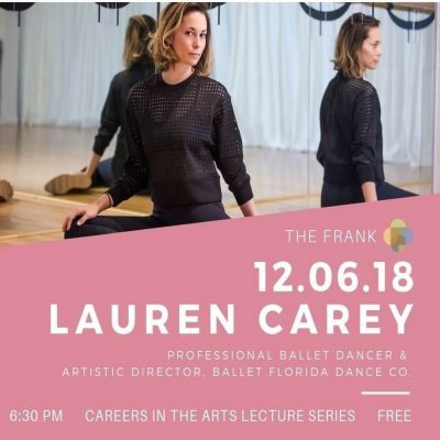Careers in the Arts: Lauren Carey