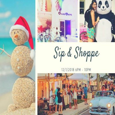 Sip n Shoppe: Holiday Edition!