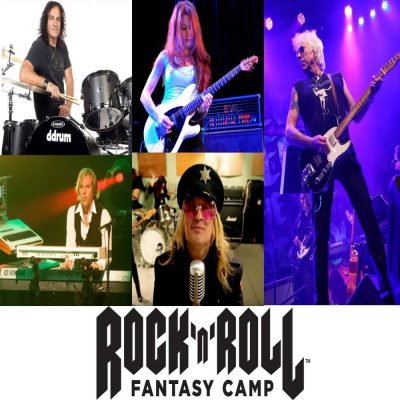 Rock 'n' Roll Fantasy Camp Free Concert at Hard Rock Café Hollywood, Florida