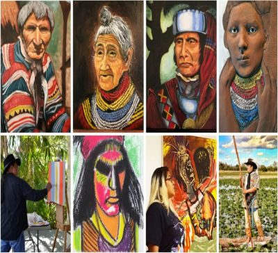 """Seminole Art Scene from the Frontlines,"" A Contem..."