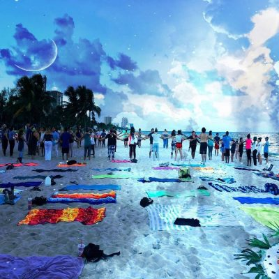 Lauderdales' Favorite Full Moon Beach Gathering