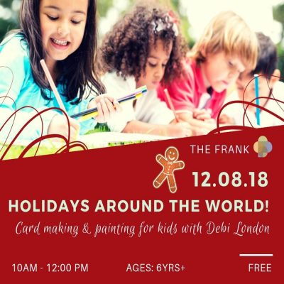Free@TheFrank Workshop: Holiday Card Making for Kids with Debi London