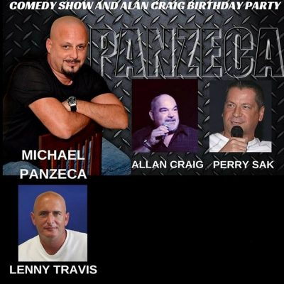 Michael Panzeca Still Standing Comedy Show And Ala...