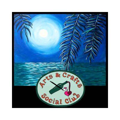 "BYOB Painting Class - ""Moonlit Ocean"""