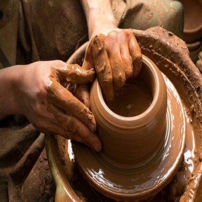 Clay Wheel Throwing