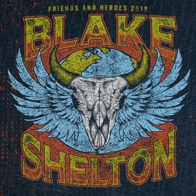 Blake Shelton Friends and Heroes 2019