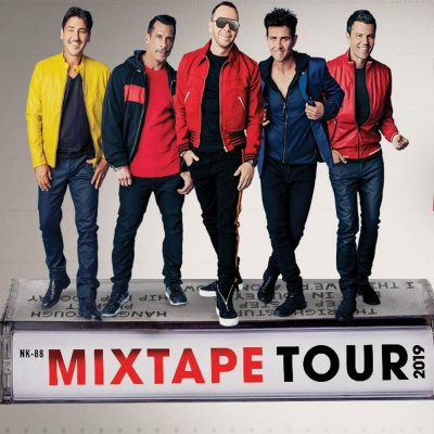 New Kids On The Block Mixtape Tour