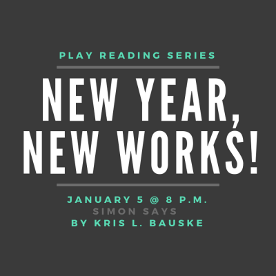 """New Year, New Works! 2019: """"Simon Says"""" by Kri..."""