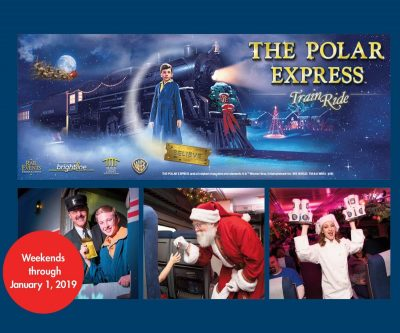 The Polar Express Train Ride at Brightline's Fort Lauderdale Station