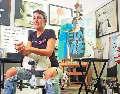 Mural Artist Lori Pratico to Speak at Arts Mean Bu...