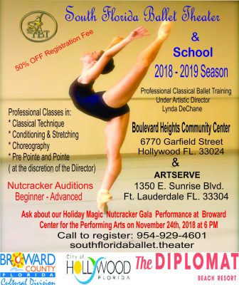 South Florida Ballet Theater (SFBT) School Winter Session Specials
