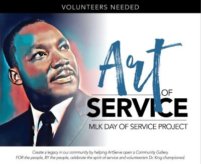 Art of Service: MLK Service Project Volunteers Nee...