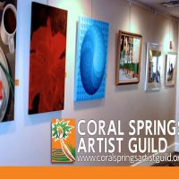 Art Reception Coral Springs Artist Guild